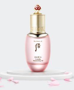 Whoo camellia moisturizing oil