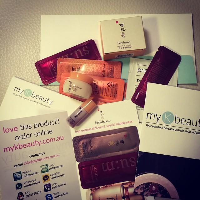 Korean Cosmetics Giveaway MyKBeauty au