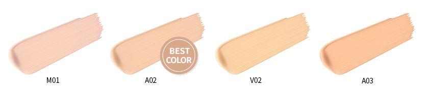 VDL cushion color variation